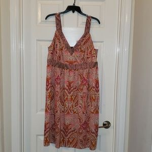 I.N.C. Plus-size Paisley Midi Dress